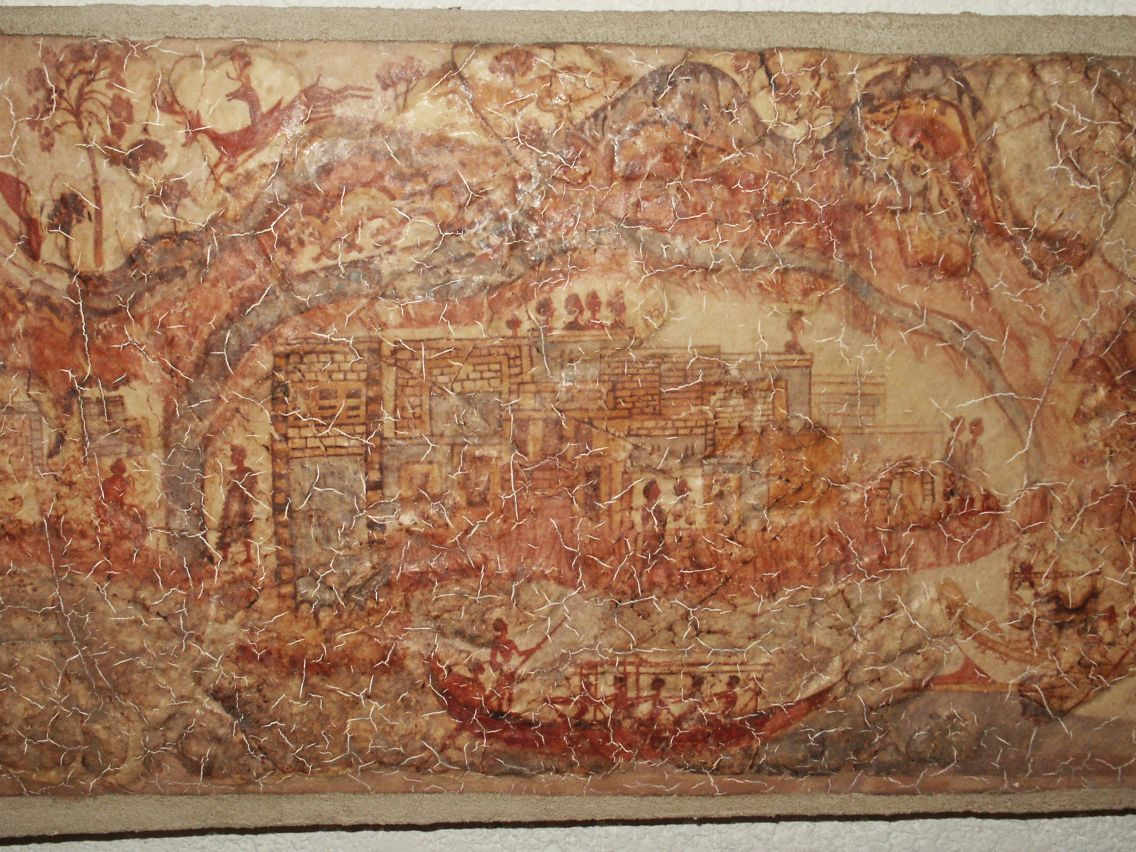 Akrotiri Santorini Wall Paintings